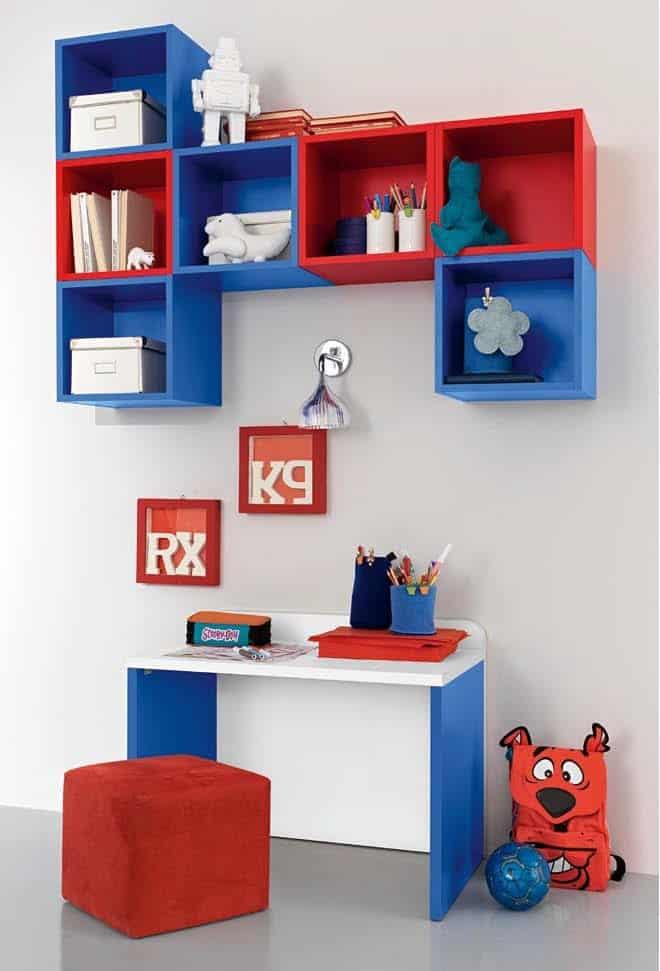 βρεφικό δωμάτιο baby102 colombini γραφείο ράφια