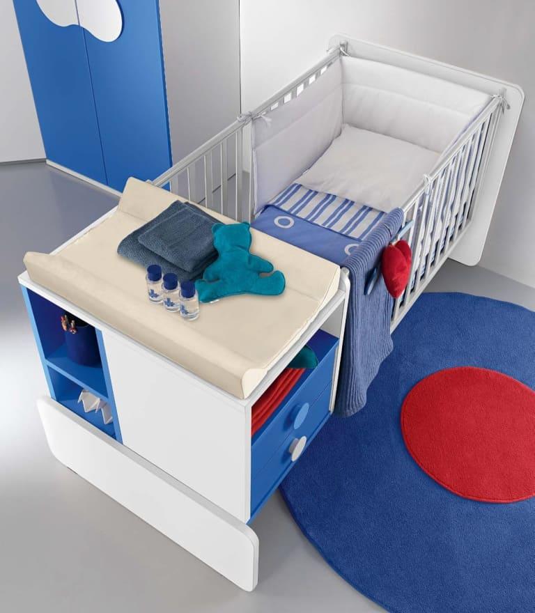 βρεφικό δωμάτιο baby102 colombini κούνια μωρού (1)