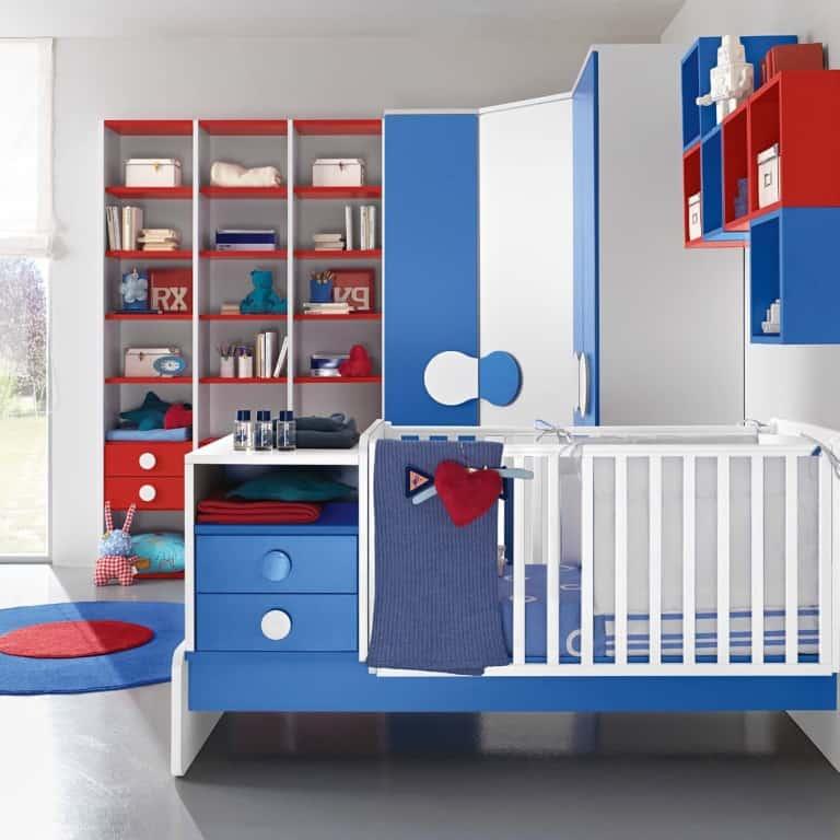 βρεφικό δωμάτιο baby102 colombini κούνια μωρού (2)