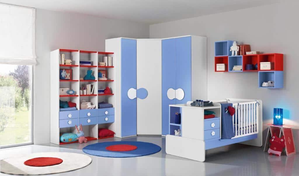 βρεφικό δωμάτιο baby102 colombini πλήρη σετ