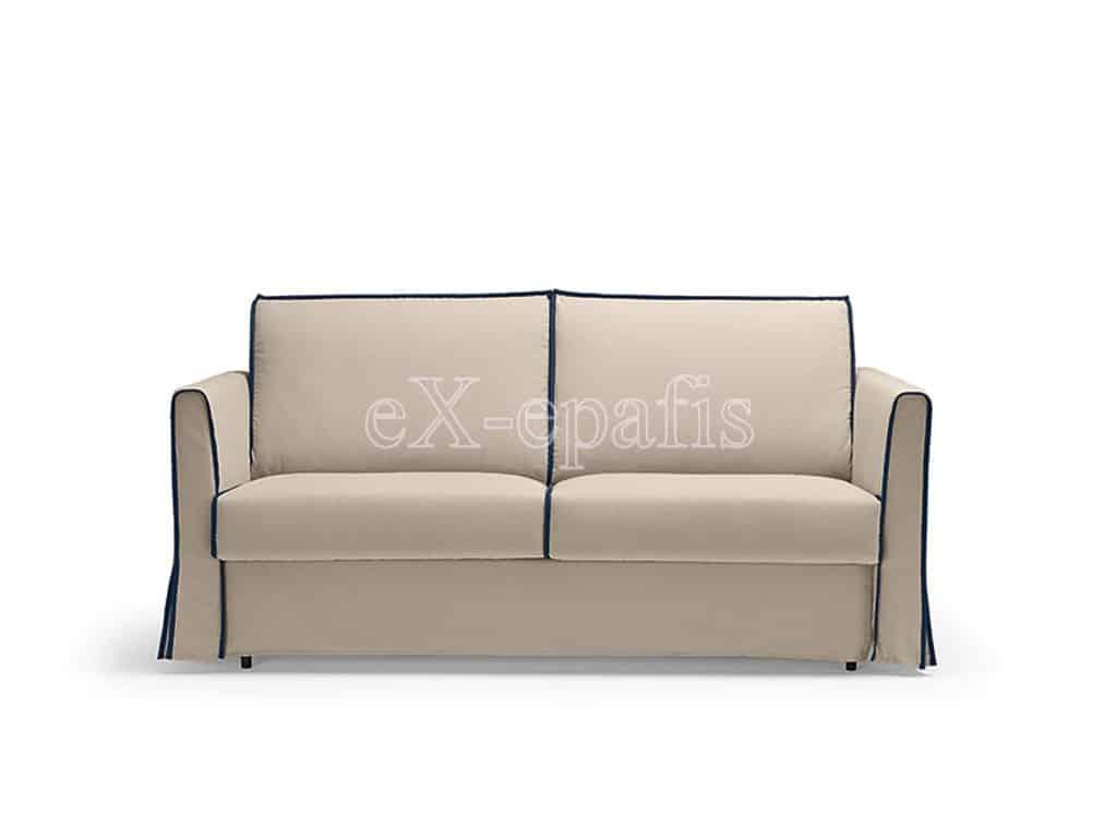 καναπές κρεβάτι gauss noctis