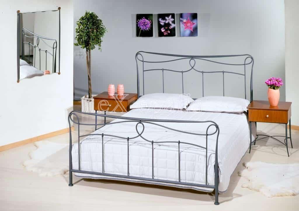 μεταλλικό κρεβάτι έλενα 101