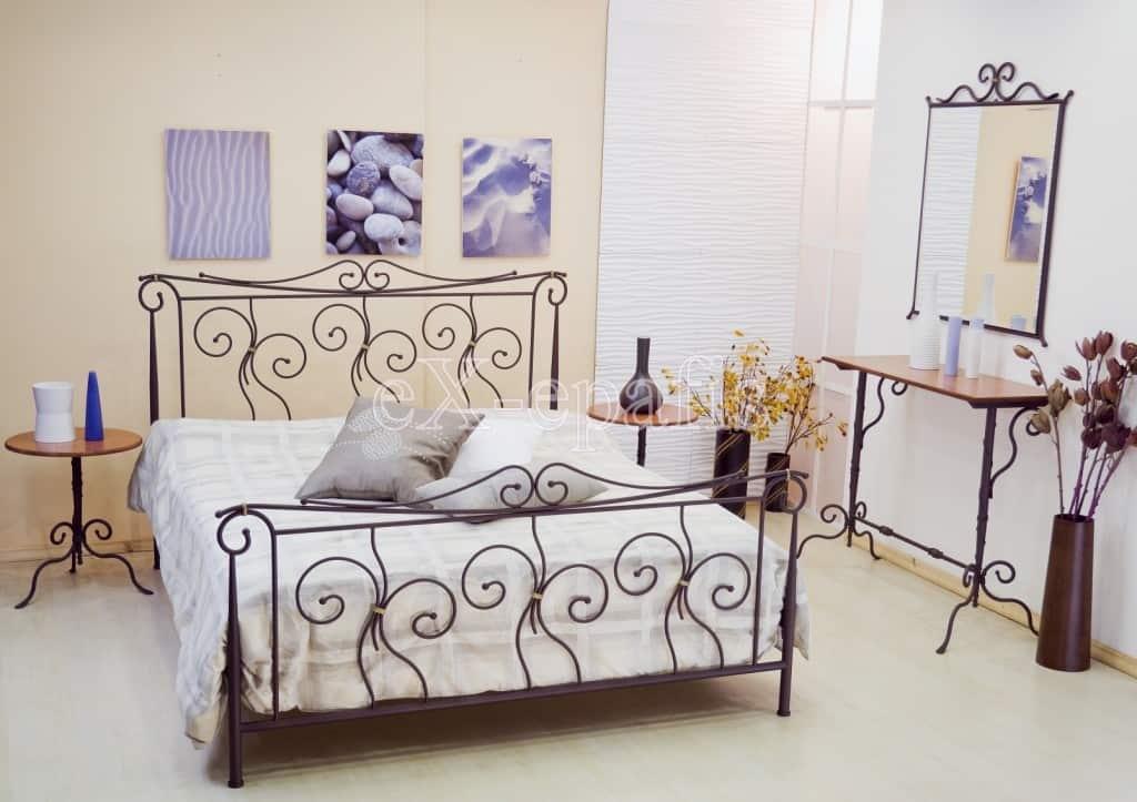 μεταλλικό κρεβάτι θάλεια 113