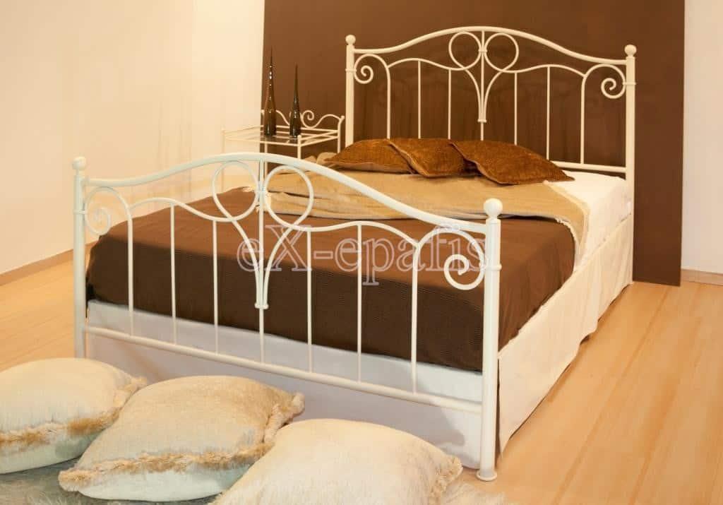 μεταλλικό κρεβάτι ρωξάνη 134