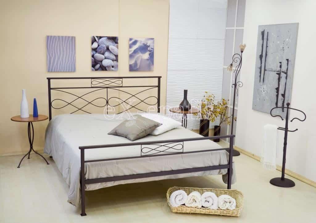 μεταλλικό κρεβάτι τερψιχόρη 117