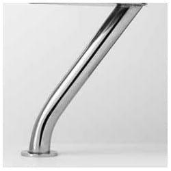 Kenny Μεταλλικό Πόδι Noctis Χρώμιο 25cm