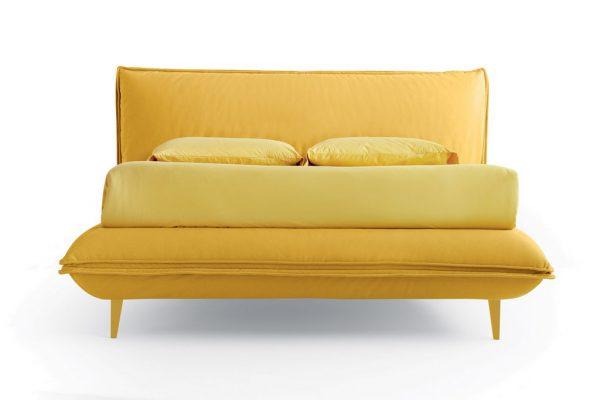 Κρεβάτι Davis Noctis με Πόδια στο Χρώμα του Υφάσματος