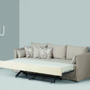 Καναπές Κρεβάτι Duetto Linea Strom