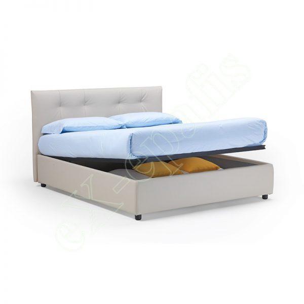 Κρεβάτι Capri Eco Italy - Με Αποθηκευτικό