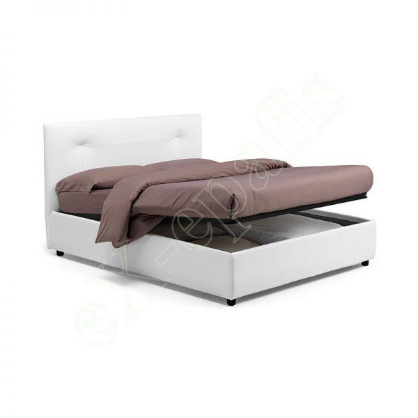 Κρεβάτι Ginevra Eco Italy - Με Αποθηκευτικό