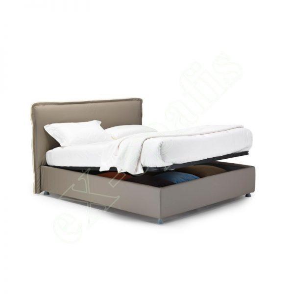 Κρεβάτι Giove Eco Italy - Με Αποθηκευτικό