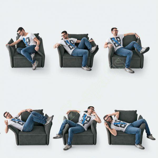 Πολυθρόνα Σαλονιού Flex Sofup Smart Colombini