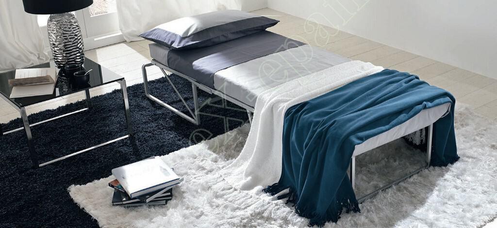 Πουφ Κρεβάτι Σαλονιού Zig Zag Sofup Smart Colombini