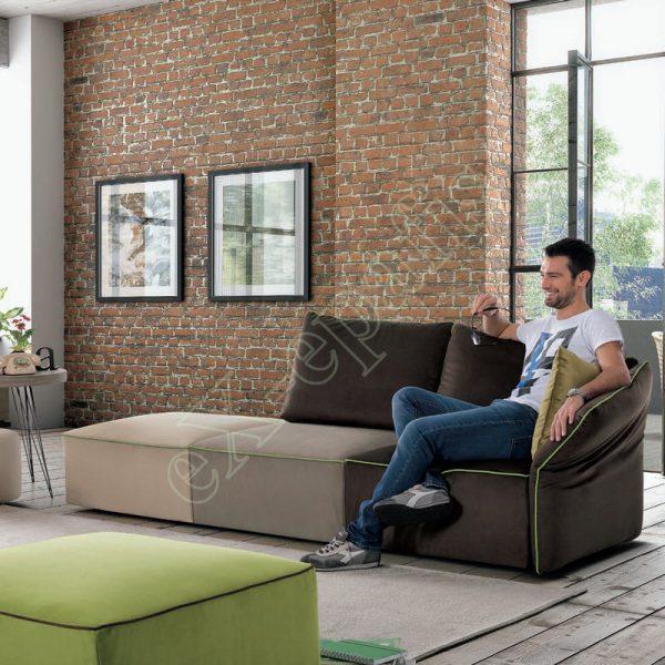 Καναπές Σαλονιού Flex Sofup Smart Colombini