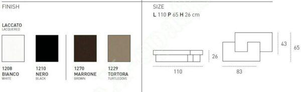 Τραπεζάκι Σαλονιού Tetris Target Point
