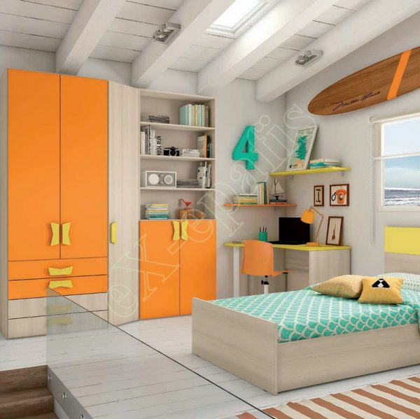 Young Bedroom Colombini Target C102