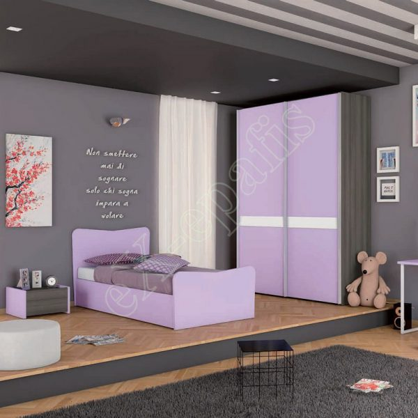 Young Bedroom Colombini Target C103