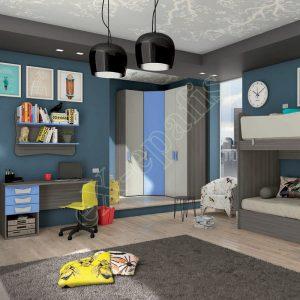 Young Bedroom Colombini Target C104