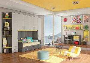 Young Bedroom Colombini Target P102