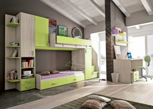 Young Bedroom Colombini Target P103