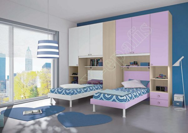 Young Bedroom Colombini Target P106