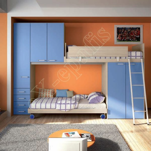 Young Bedroom Colombini Target P107