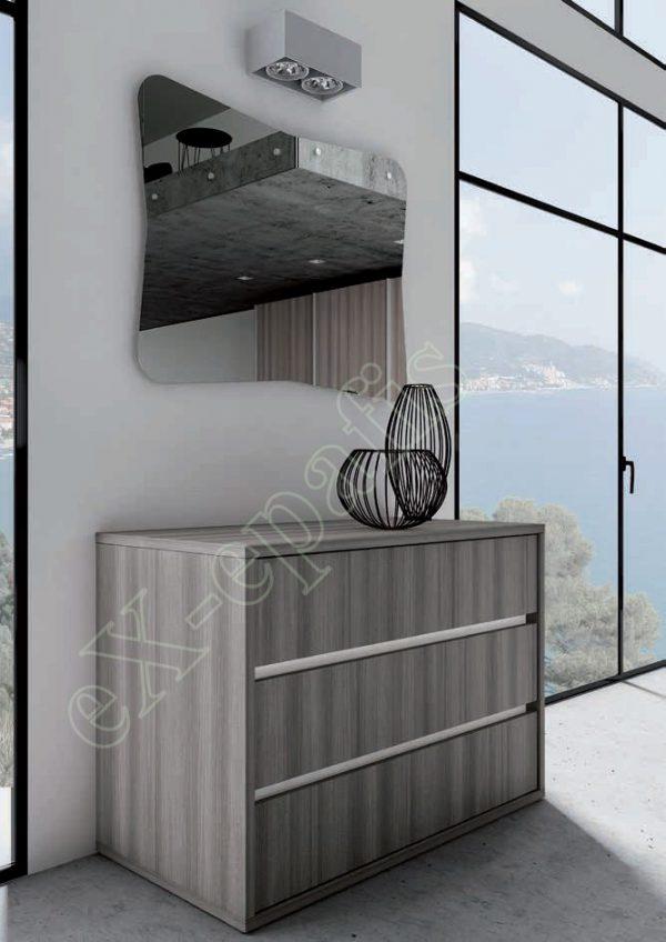 Master Room με Ντουλάπα Κρεβάτι Τουαλέτα Colombini Target M102