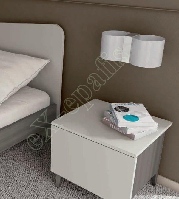 Master Room με Ντουλάπα Κρεβάτι Τουαλέτα Colombini Target M104