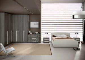 Master Room με Ντουλάπα Κρεβάτι Τουαλέτα Colombini Target M106