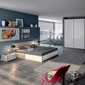 Master Room με Ντουλάπα Κρεβάτι Τουαλέτα Colombini Target M109