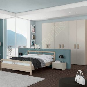 Master Room με Ντουλάπα Κρεβάτι Τουαλέτα Colombini Target M111