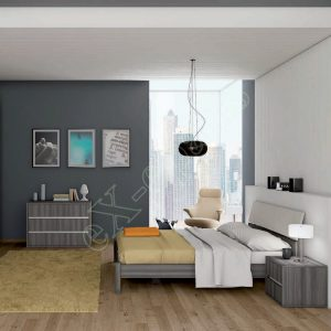 Master Room με Ντουλάπα Κρεβάτι Συρταριέρα Colombini Target M113