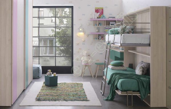 Kids Bedroom Colombini Golf C105