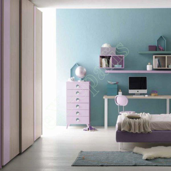 Kids Bedroom Colombini Golf C109