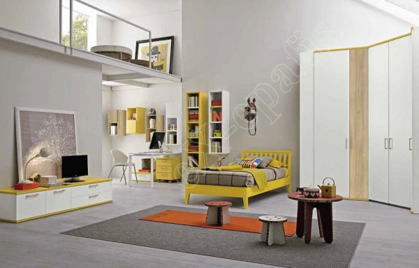 Kids Bedroom Colombini Golf C119