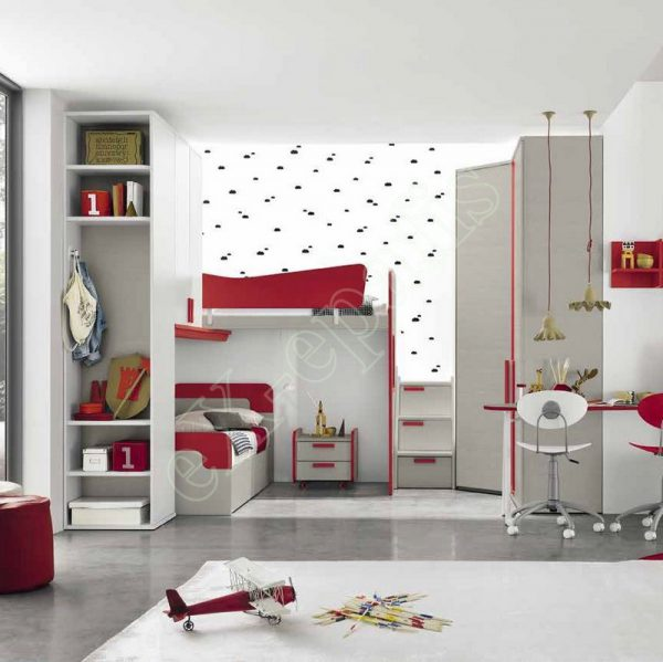 Kids Bedroom Colombini Golf C134
