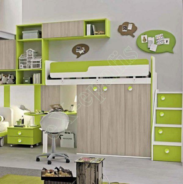 Kids Bedroom Colombini Golf C135