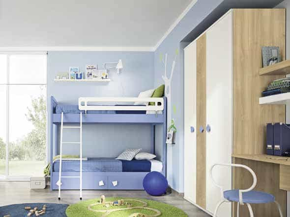 Kids Bedroom Colombini Golf C139