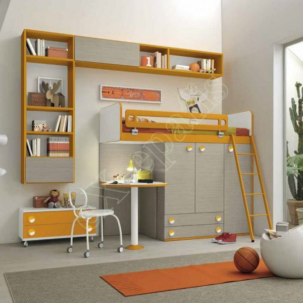 Kids Bedroom Colombini Golf C141