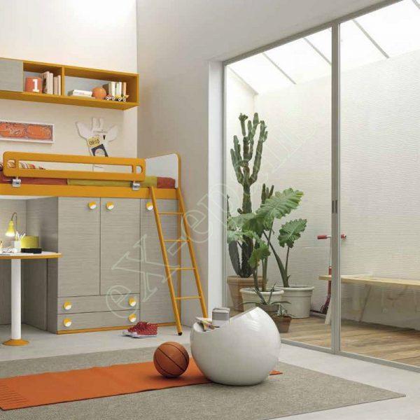 Kids Bedroom Colombini Golf C141