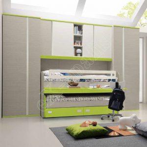 Kids Bedroom Colombini Golf C150