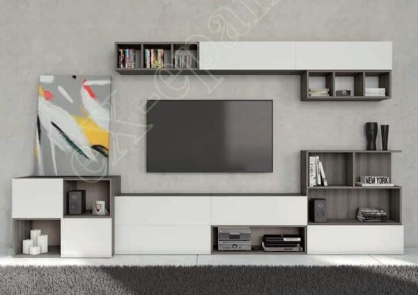 Wall Unit Living Room Colombini Target S104