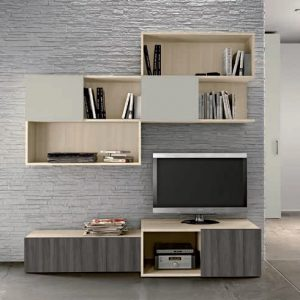 Wall Unit Living Room Colombini Target S106