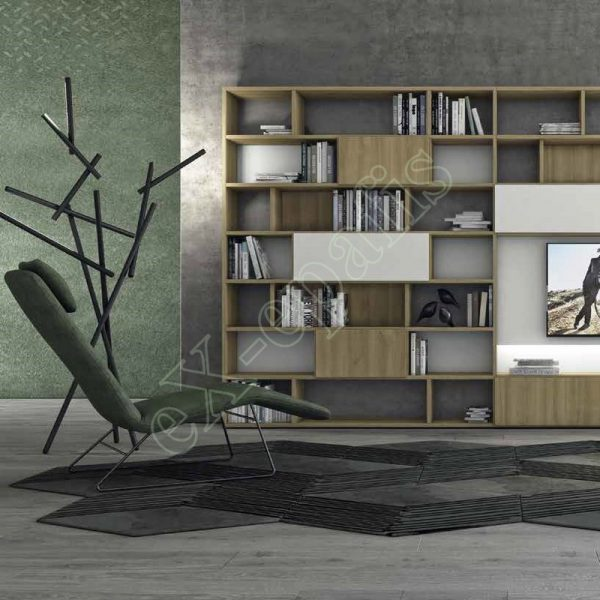 Wall Unit Living Room Colombini Golf L108