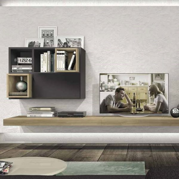 Wall Unit Living Room Colombini Golf L128