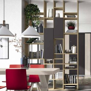 Wall Unit Living Room Colombini Golf L132