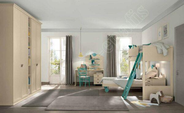 Kids Bedroom Colombini Arcadia AC109