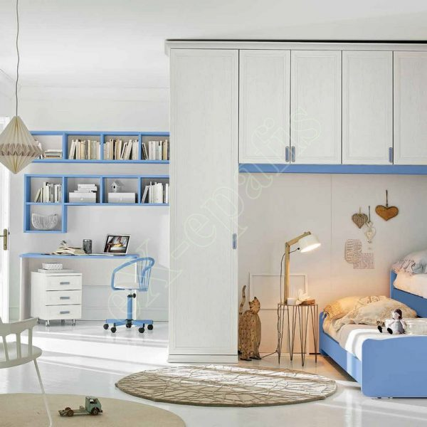 Kids Bedroom Colombini Arcadia AC122