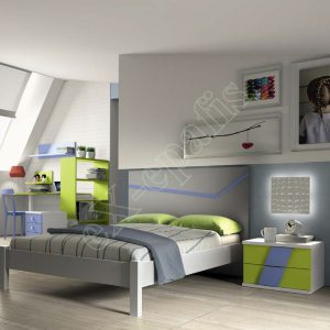 Young Bedroom Colombini Volo C01