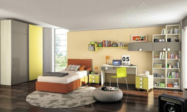 Young Bedroom Colombini Volo C06